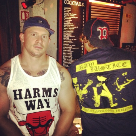Harms Way VS Raw Justice