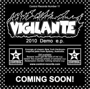 VIGILANTE FLYER CONTROL RECORDS