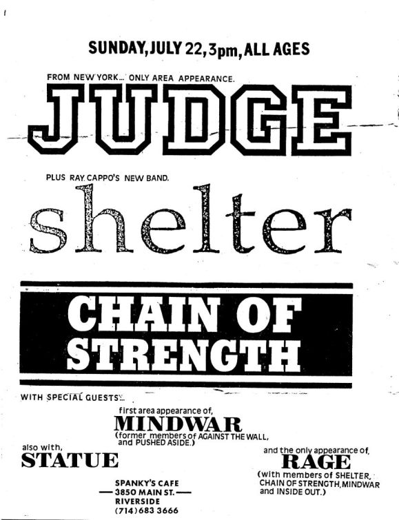 Judge - Shelter - chain Of Strength