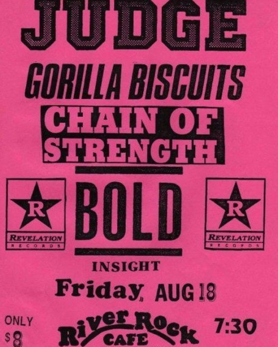 Judge Gorilla Biscuits Bold Chain Of Strength